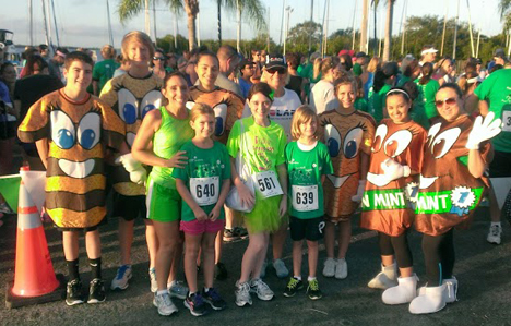 Thin Mint 5k - innaugural race