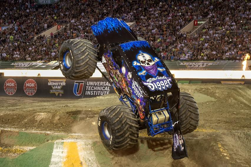 Son-Uva-Grave Digger - Monster Jam Tampa