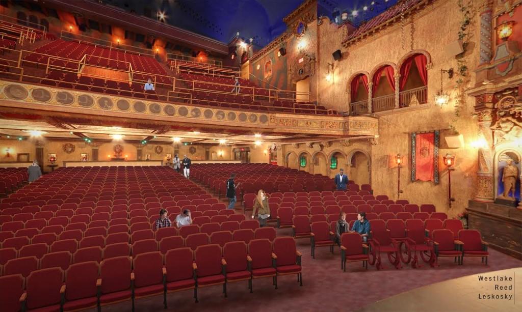 Tampa Theatre - auditorium