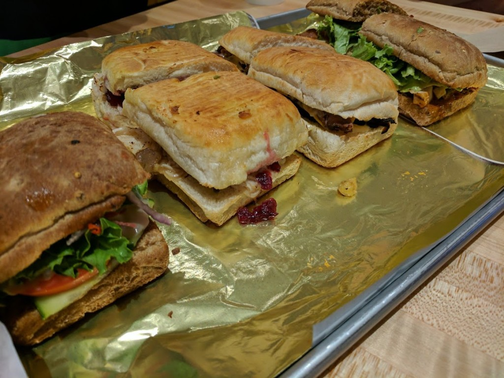Earl of Sandwich - sandwiches