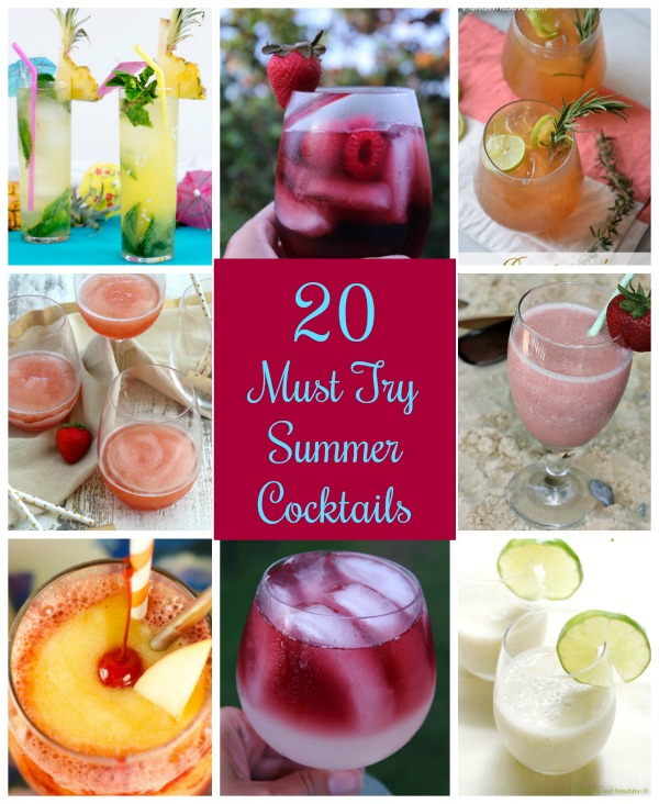 20 Must Try Summer Cocktails - Tampa Bay Bloggers