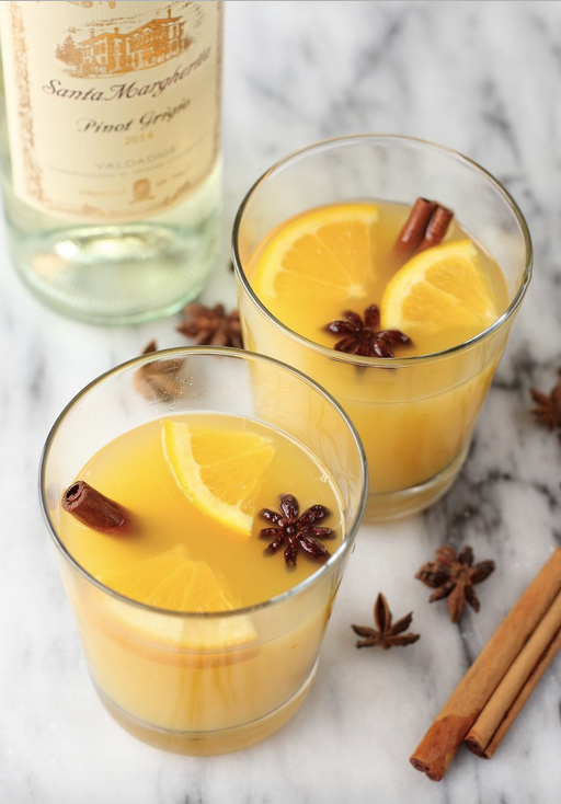 Cinnamon Orange Blossom Cocktail Recipe