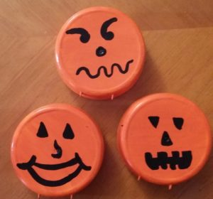 Upcycled Halloween Crafts with Citrus Magic